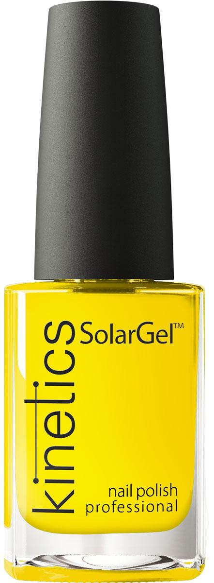 Kinetics Профессиональный лак SolarGel Polish 15 мл, тон 366 kinetics 227s гель лак для ногтей shield 11мл