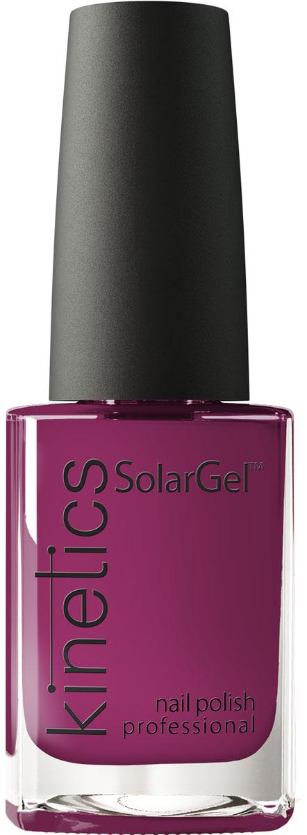 Kinetics Профессиональный лак SolarGel Polish 15 мл, тон 3689790Новое поколение профессиональных гелевых лаков для ногтей, которые наносятся как обычный лак, а выглядят как гель. Ультра модные и классические цвета, поражают своей стойкостью и разнообразием оттенков. Стойкость до 10 дней, не требует специальной сушки в UV/LED лампе. Рекомендуется использовать с верхним покрытием SolarGel Top Coat.
