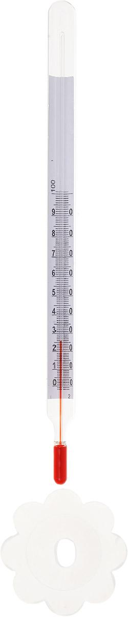 Термометр бытовой Стеклоприбор, для консервирования. ТБ-3М1 исп.2300129Термометр бытовой Стеклоприбор применяется для измерения температур стерилизационной среды при домашнем консервировании, а также используется для измерения температуры продуктов в зависимости от области применения. Вы можете использовать его для измерения температуры чая, детского питания, молочных продуктов, сыра и вина. Термометр выполнен из ударопрочного стекла и снабжен пластиковым поплавком в форме ромашки. Модель имеет наглядную шкалу с ценой деления в 1°С и широкий диапазон температур - от 0 до +100°С. Не содержит ртути.