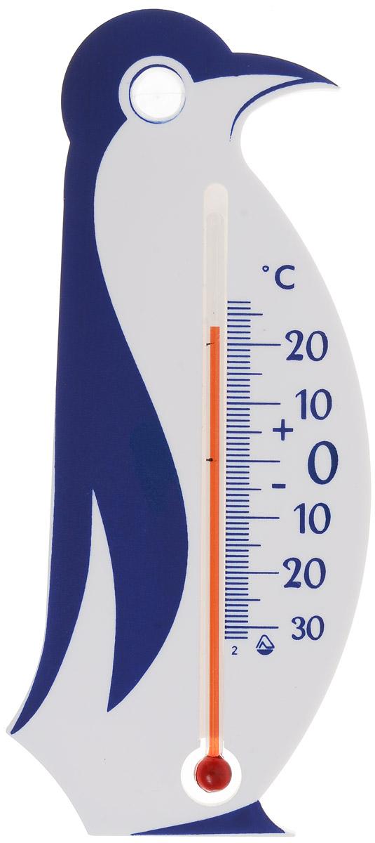 """Термометр для холодильника Стеклоприбор """"Пингвин""""  предназначен для измерения и контроля температуры в  холодильнике. Корпус термометра выполнен из пластика в  виде пингвина. Модель имеет наглядную шкалу с ценой  деления в 1°С и широкий диапазон температур - от -30 до +20° С. Не содержит ртути.  Термометр легко устанавливается с помощью присоски на  заднюю или боковую стенку, внутри холодильника, на сухой и  чистый пластик корпуса, а также легко снимается в случае  уборки холодильника или необходимости переноса термометра  в другую зону контроля. Безопасное и правильное хранение  продуктов питания - залог здоровья."""