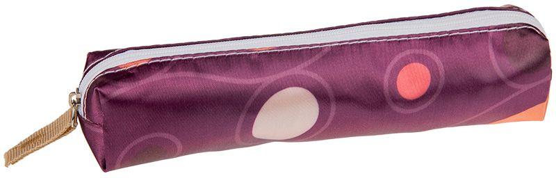 ArtSpace Пенал-косметичка Шик цвет фиолетовыйBF_10992Мягкий пенал-косметичка ArtSpace Шик станет незаменимым аксессуаром как для школьников, так и для совсем маленьких деток. Модель отлично подойдет для хранения различных принадлежностей. В верхней части пенала расположена застежка-молния, которая не позволит содержимому потеряться.