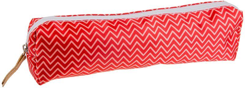 ArtSpace Пенал-косметичка Рельеф цвет красный всё для лепки спейс пластилин artspace 18 цветов