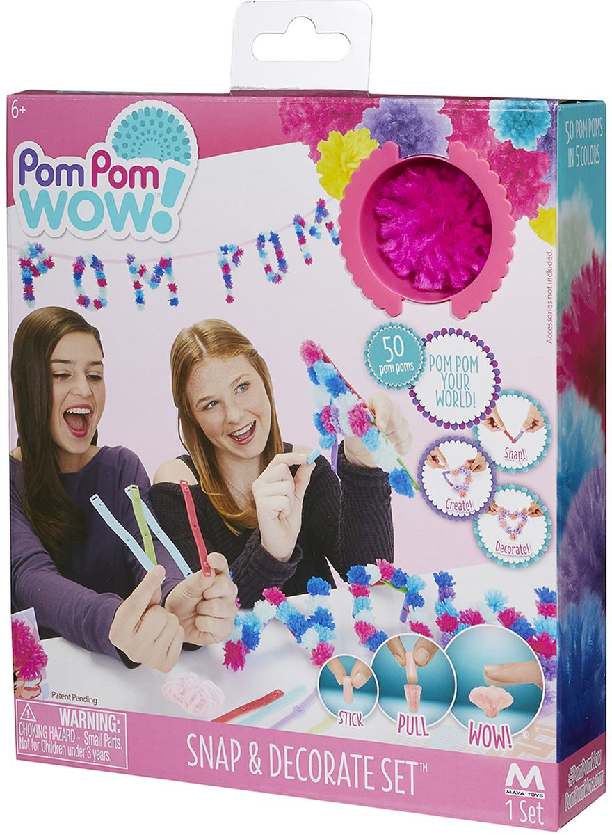 Pom Pom Wow Набор для создания украшений Делай и украшай