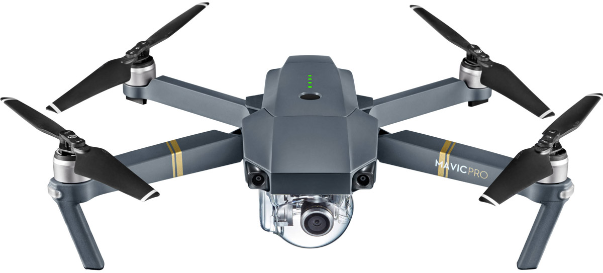 DJI Квадрокоптер на радиоуправлении Mavic Pro