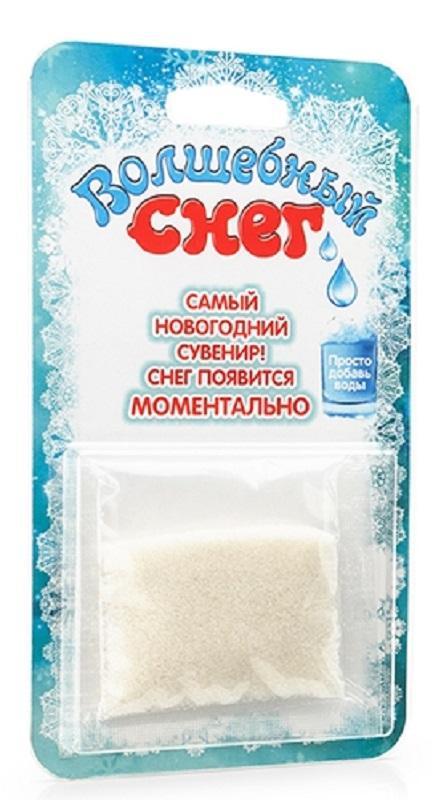 Волшебный снег Набор для опытов и экспериментов цвет упаковки бирюзовый