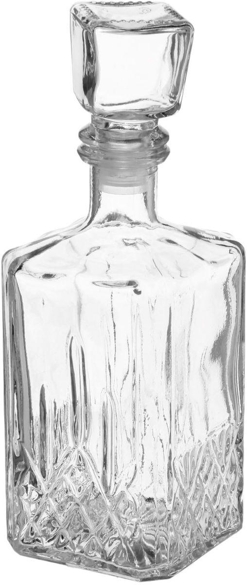 Штоф Хрустальный звон Кристалл, 500 мл1162833От качества посуды зависит не только вкус еды, но и здоровье человека. Графин-штоф с пробкой Хрустальный звон, выполненный из высококачественного стекла, соответствует российским стандартам качества. Любой хозяйке будет приятно держать его в руках.С посудой и кухонной утварью Хрустальный звон приготовление еды и сервировка стола превратятся в настоящий праздник.