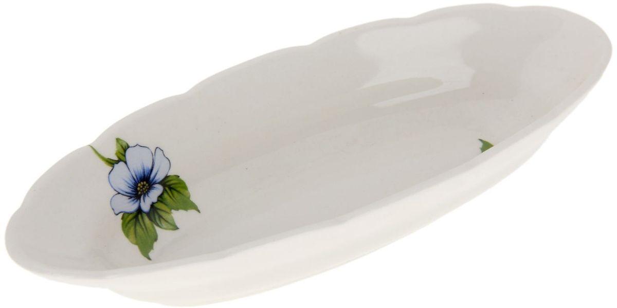 Селедочница Дружковский фарфор Бисер1185522Необходимый для любой хозяйки предмет, который сочетает в себе отличное качество и дизайн. Наша посуда станет преданным помощником на Вашей кухне.Покупать у нас просто – Вы заказываете понравившуюся продукцию, а мы доставляем Вам её в любое место!