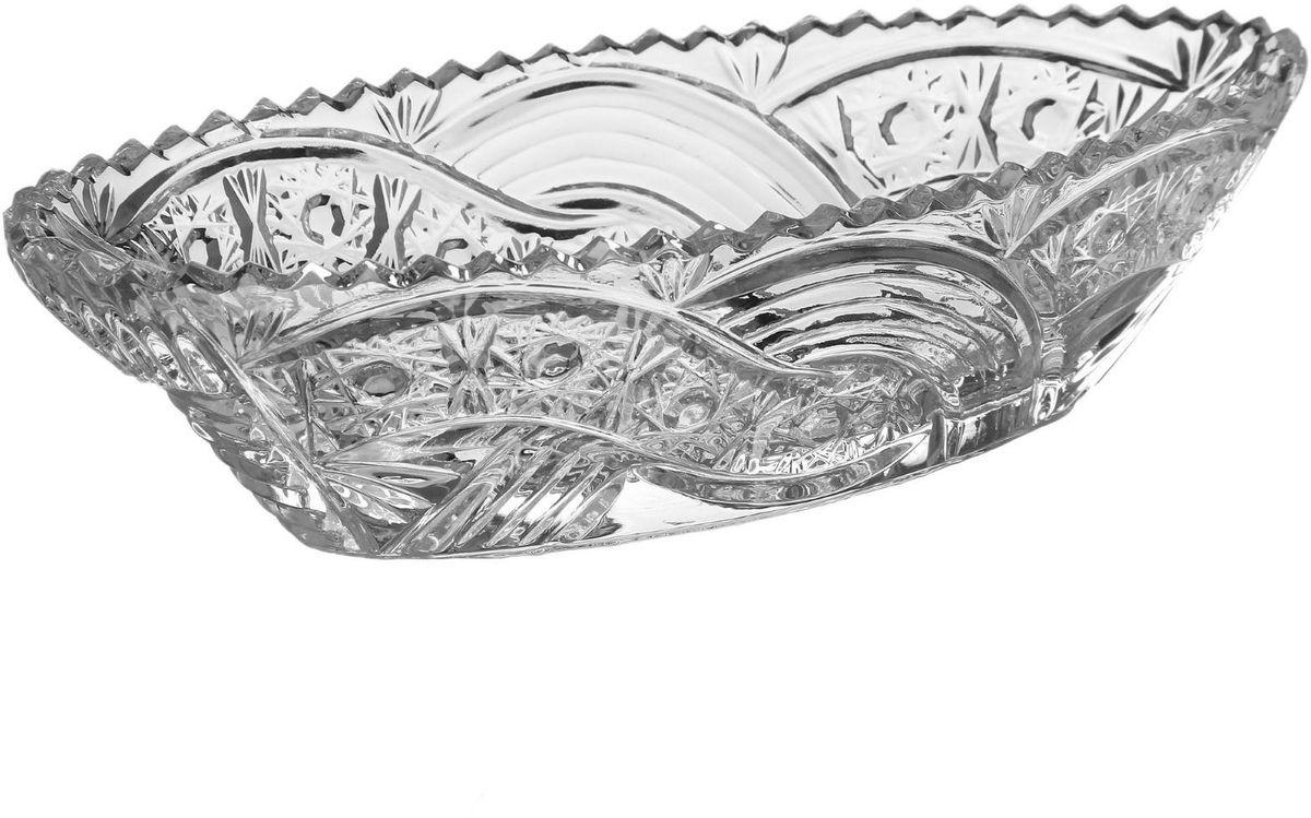 Салатник Бахметьевский завод, 10 х 23 см1425032Салатник Бахметьевский завод изготовлен из качественного Бахметьевского хрусталя. Салатник оформлен оригинальным резным рисунком.Изделие будет долго радовать вас своим внешним видом и высоким качеством.