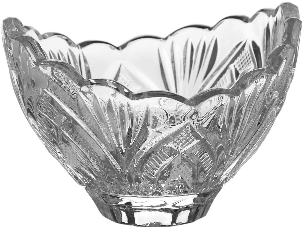 Креманка Бахметьевский завод, диаметр 10,7 см. 1425057 блюдо бахметьевский завод диаметр 24 см 1425035
