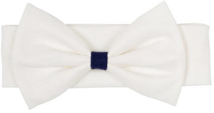 Повязка на голову для девочки Lucky Child Лазурный берег, цвет: белый. 28-94Д. Размер 49