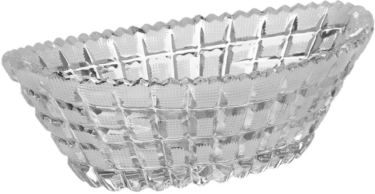 Салатник Бахметьевский завод, 11 х 21 см блюдо бахметьевский завод диаметр 24 см 1425035