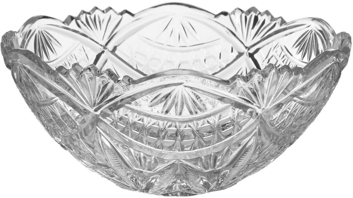 Салатник Бахметьевский завод, диаметр 19 см монитор по низким ценам