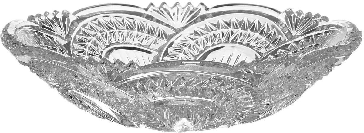 Тарелка Бахметьевский завод, диаметр 19,5 см1425126Тарелка Бахметьевский завод изготовлена из качественного Бахметьевского хрусталя. Тарелка оформлена оригинальным резным рисунком.Изделие будет долго радовать вас своим внешним видом и высоким качеством.