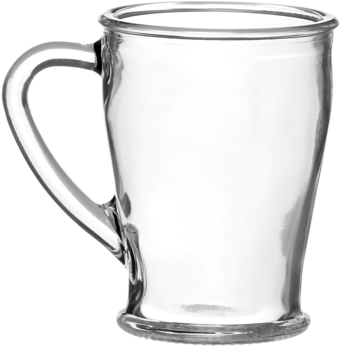 Кружка Хрустальный звон ЧайКофф, 200 мл1556843От качества посуды зависит не только вкус еды, но и здоровье человека. Кружка Хрустальный звон ЧайКофф - товар, соответствующий российским стандартам качества. Кружка выполнена из высококачественного стекла.Любой хозяйке будет приятно держать ее в руках.