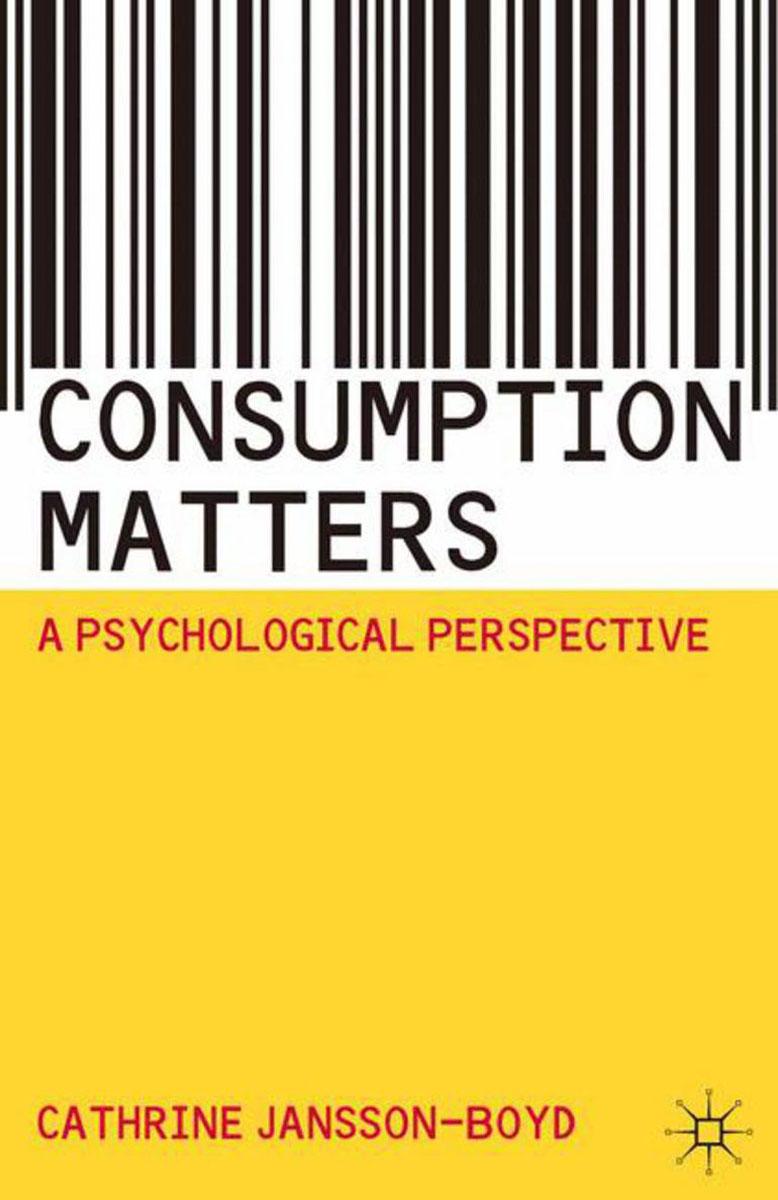 Consumption Matters abnormal psychology 4e