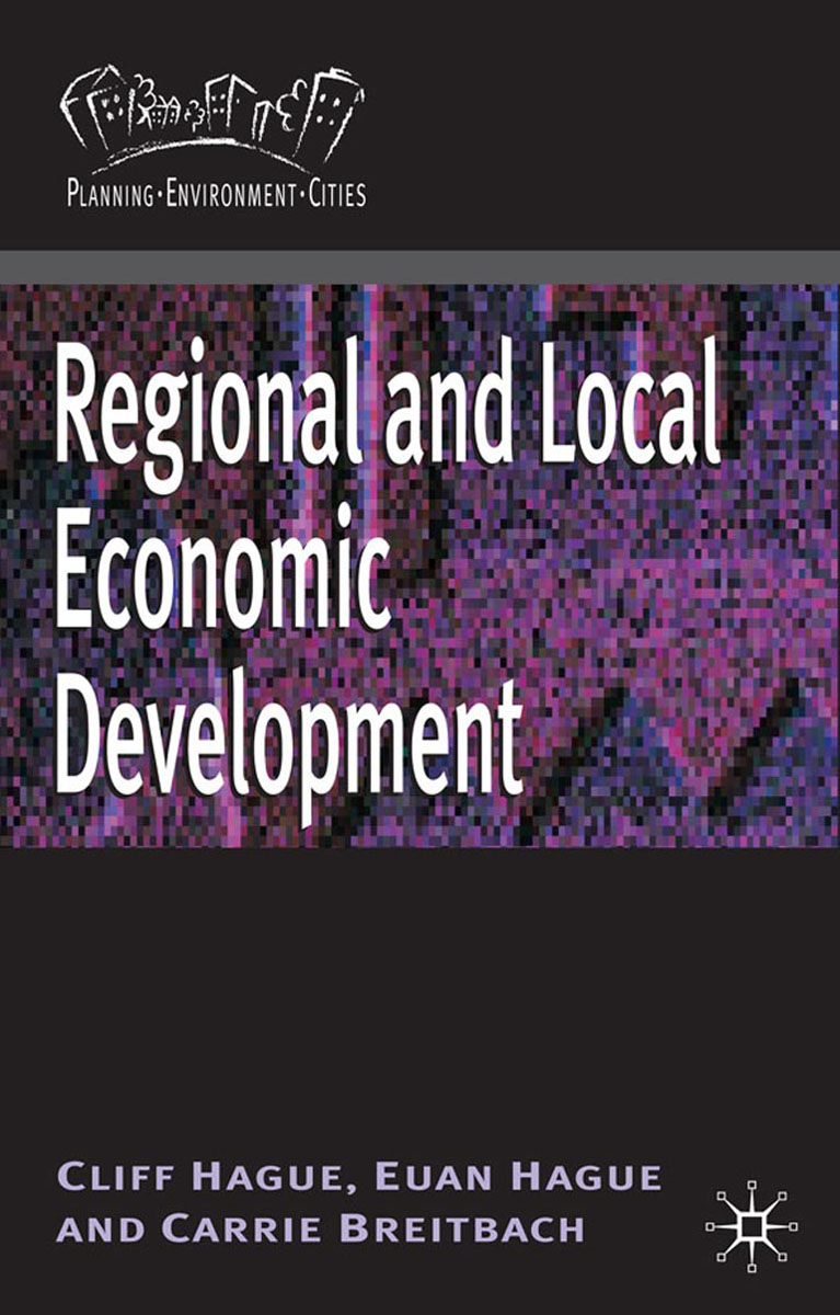 Regional and Local Economic Development