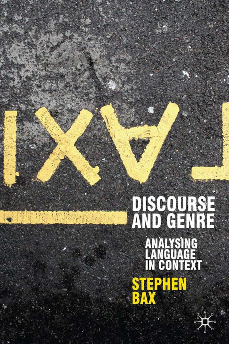 Discourse and Genre metadiscourse and genre learning