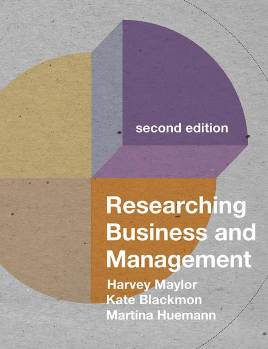 Researching Business and Management introduction to business research methods