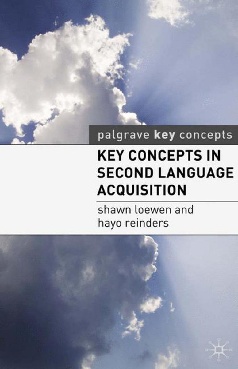 Key Concepts in Second Language Acquisition herbert w seliger second language research methods