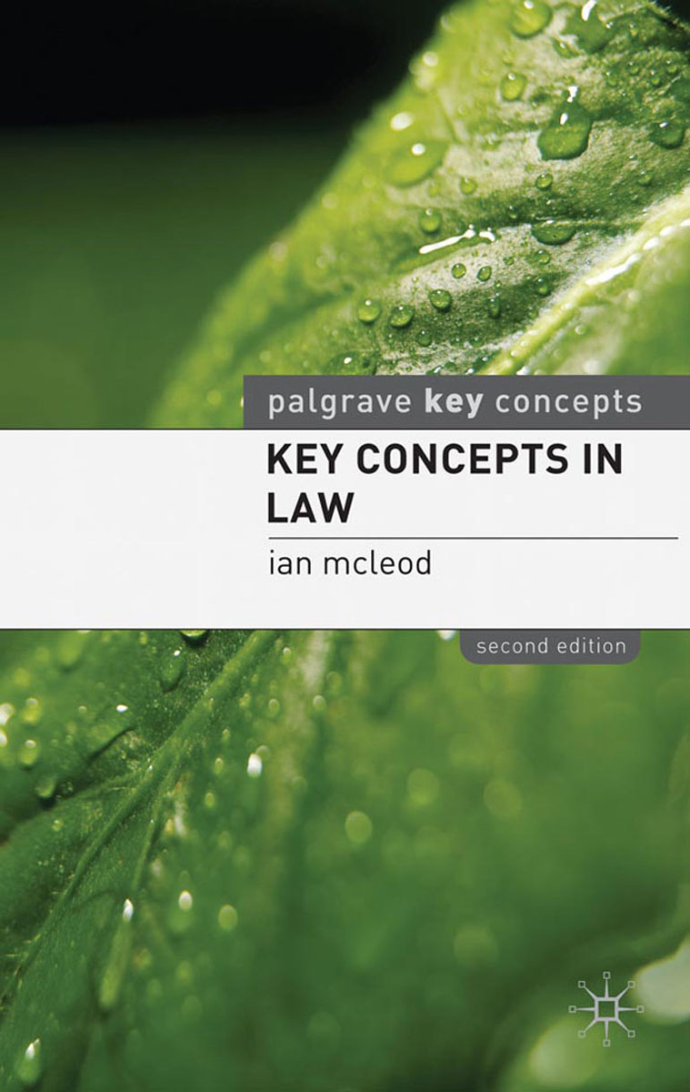 Key Concepts in Law word meaning and legal interpretation