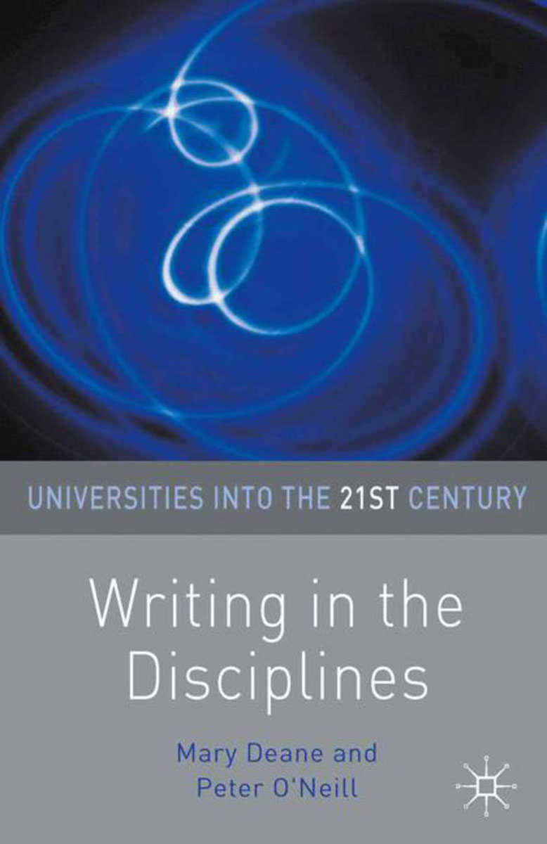 Writing in the Disciplines the role of writing in undergraduate design education in the uk