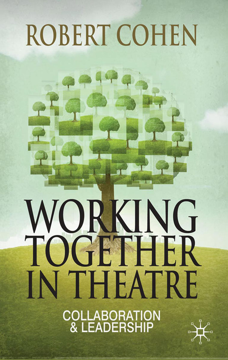 Working Together in Theatre theatre show stker book