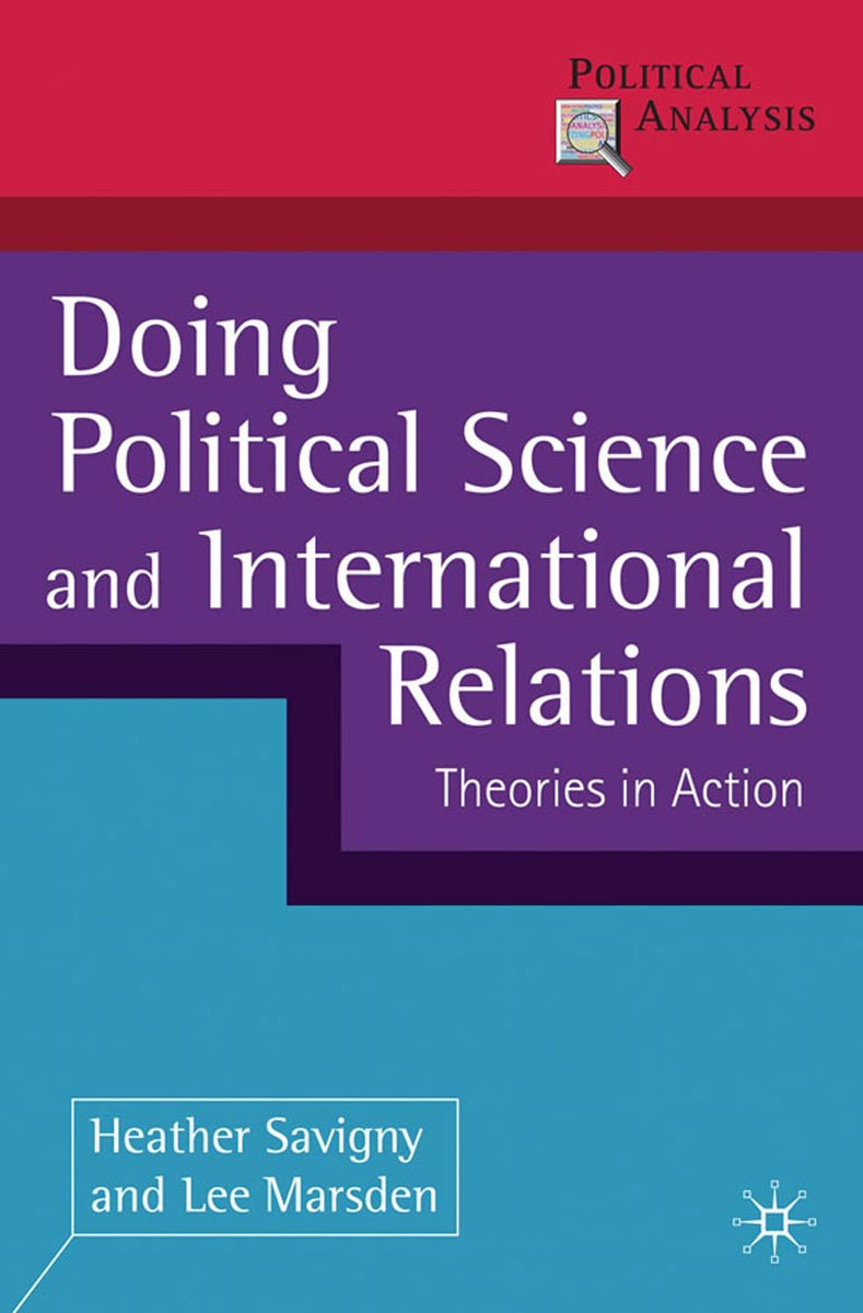 Doing Political Science and International Relations a study of the religio political thought of abdurrahman wahid