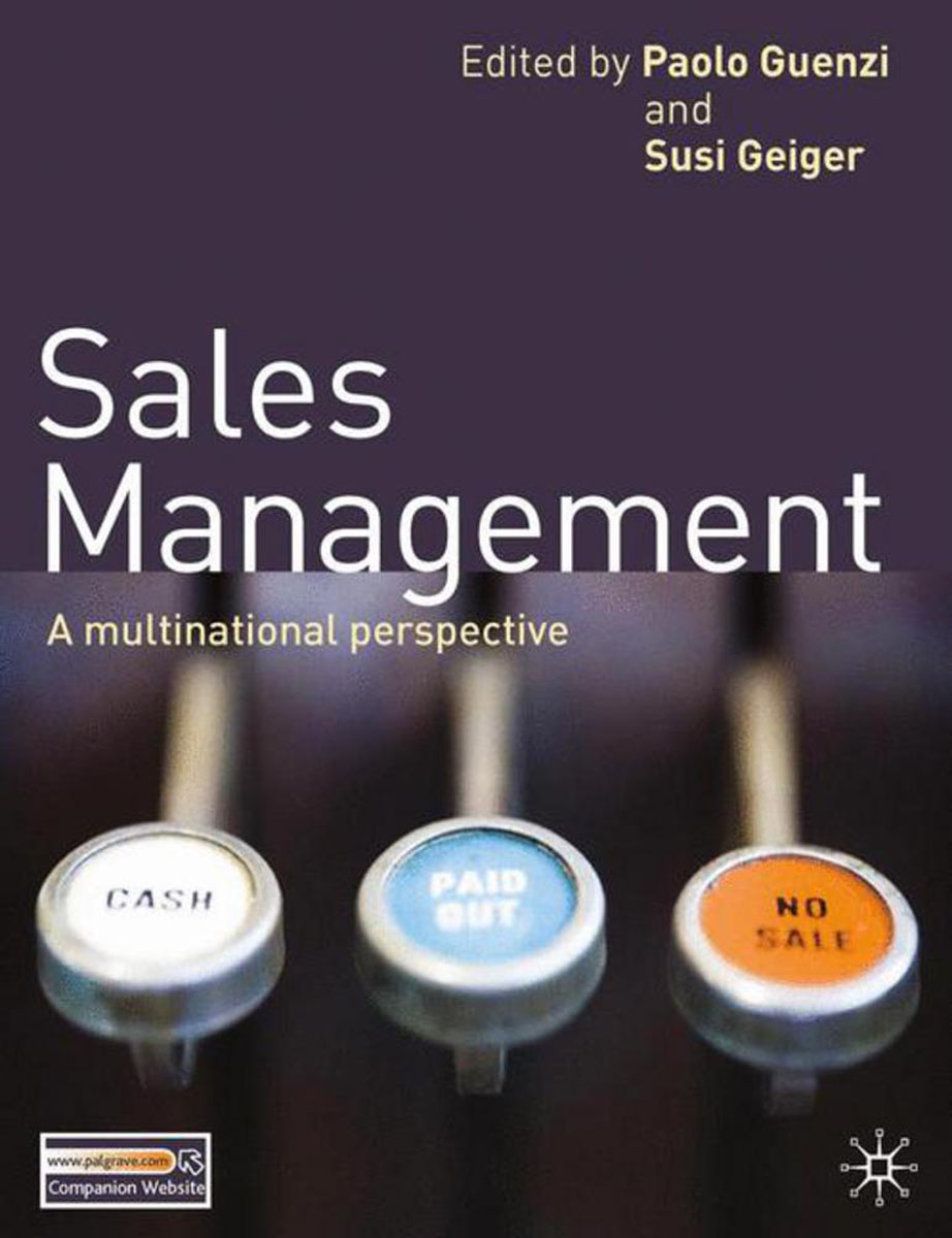 Sales Management james sagner working capital management applications and case studies