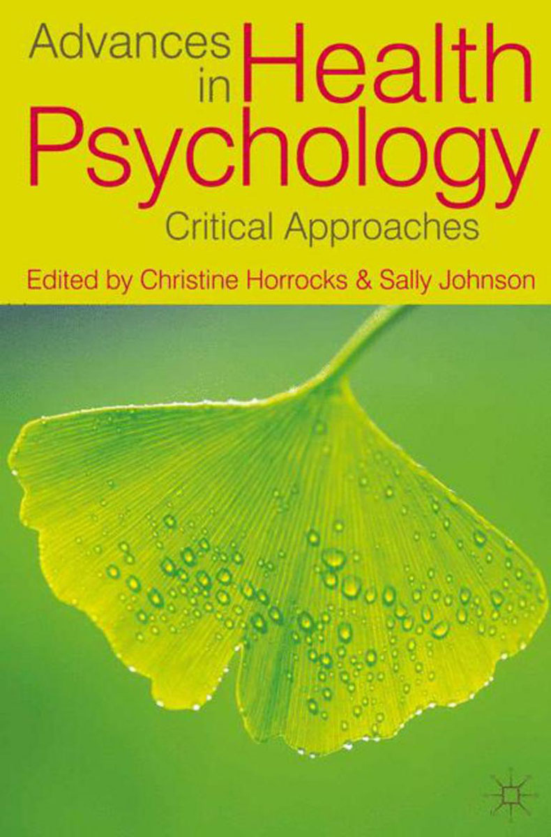 Advances in Health Psychology quantum quantum pwg453 358