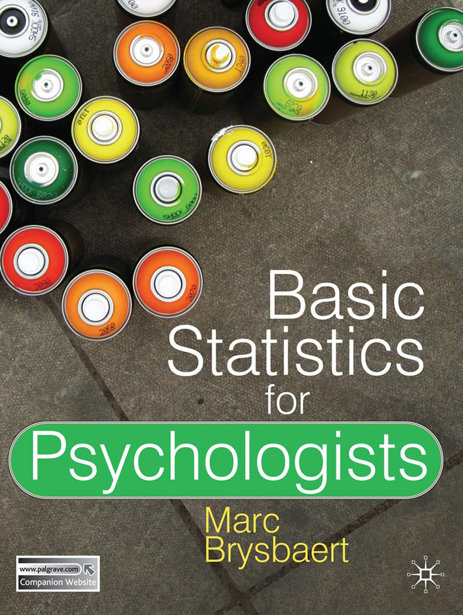 Basic Statistics for Psychologists basic psychology 5e sg