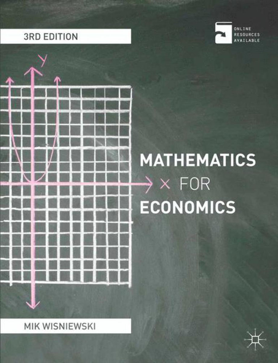 Mathematics for Economics learning mathematics from comparing multiple examples