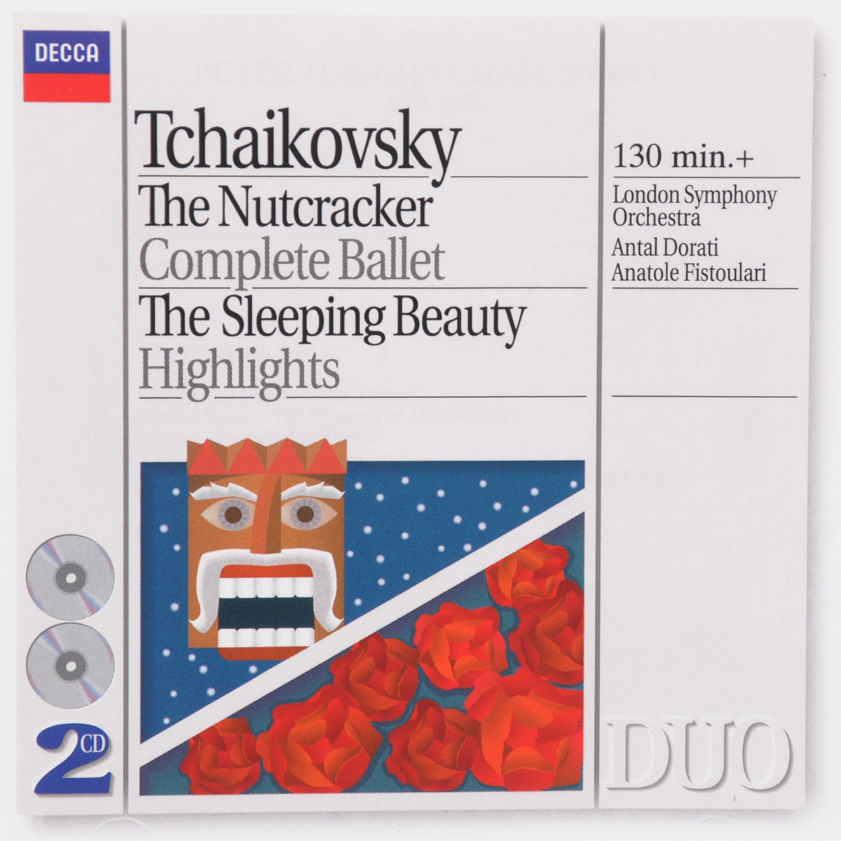 Анатоль Фистоулари,The London Symphony Orchestra,Антал Дорати Tchaikovsky. The Nutcracker Complete Ballet / The Sleeping Beauty Highlights (2 CD) brodway the musical highlights trilogy 3 cd