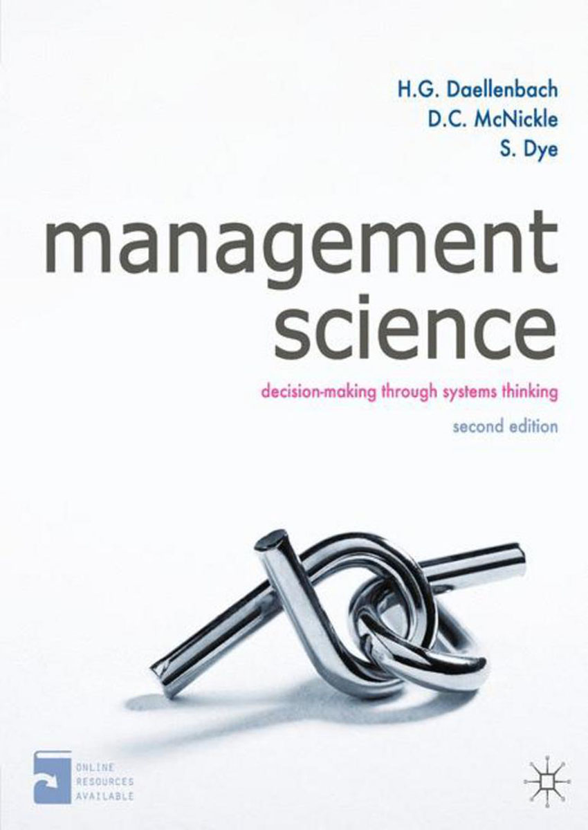 Management Science management dilemmas the theory of constraints approach to problem identification and solutions the crc press series on constraints management