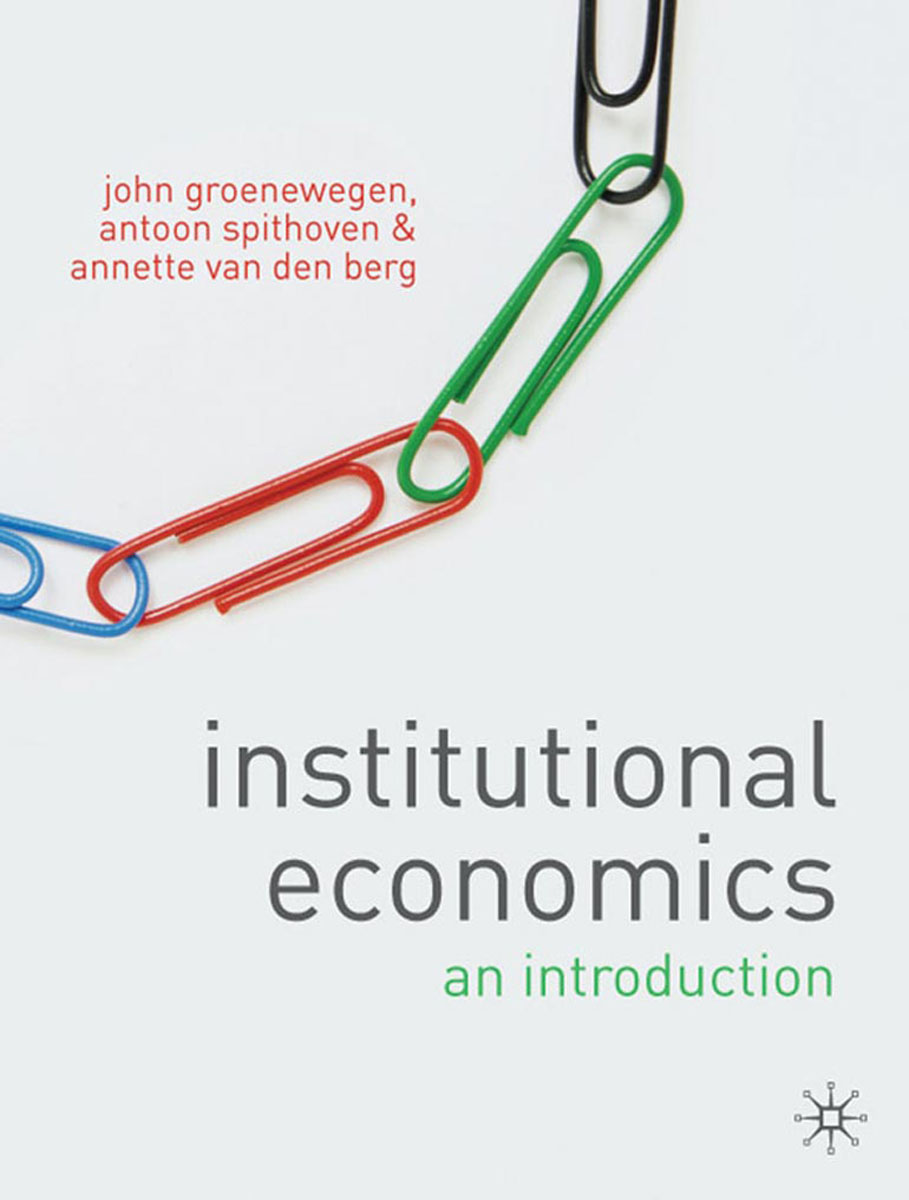 Institutional Economics jerald pinto e economics for investment decision makers workbook micro macro and international economics