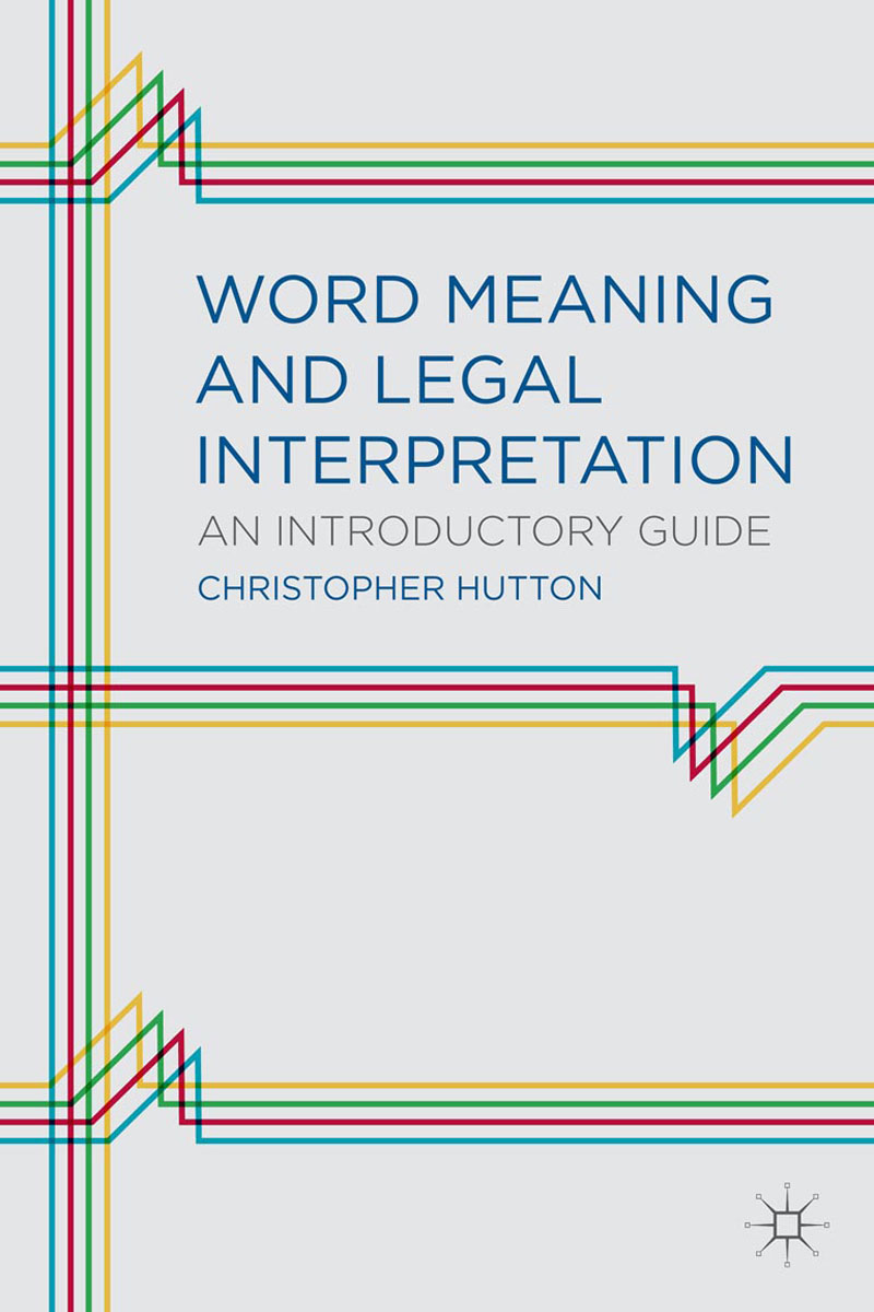 Word Meaning and Legal Interpretation frank lloyd wright and the meaning of materials