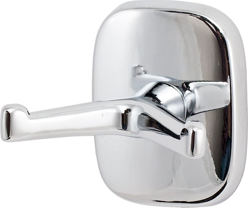 Крючок для ванной Del Mare 1500, двойной, цвет: хром1501Крючок двойной Del Mare 1500 — это оригинальный и функциональный аксессуар. Крючок можно использовать в помещениях с высокой влажностью. Навесные крючки — это практичное решение для размещения аксессуаров, полотенец или банных принадлежностей, позволяющее сэкономить пространство и организовать порядок в ванной комнате.