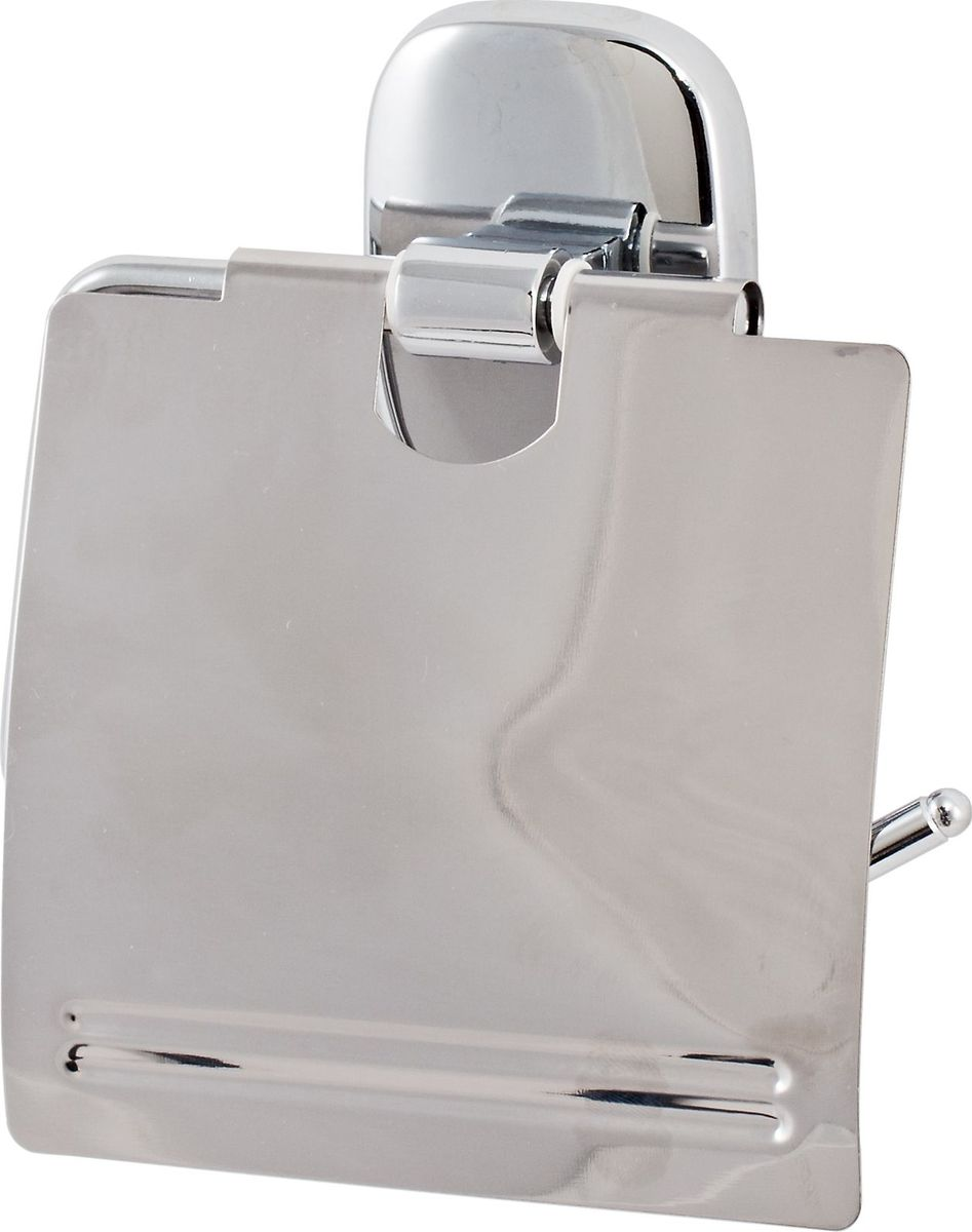 """Держатель туалетной бумаги Del Mare """"1500"""" — практичный аксессуар для санузла, выполненного в современном стиле. Этот небольшой, но важный предмет интерьера поможет создать эргономичное пространство даже в компактном помещении. Держатель прекрасно гармонирует с любой расцветкой ванной комнаты. Хромированная поверхность изделия создает зеркальный эффект, подчеркивая оформление ванной комнаты."""