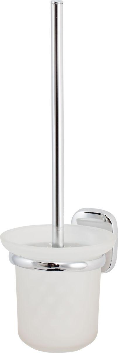 """Ершик для унитаза Del Mare """"1500"""" - это практичный, стильный и гигиеничный аксессуар для туалета. Благодаря настенному монтажу модель можно размещать на удобной высоте. Жесткая щетина из синтетических волокон легко справится с загрязнениями."""