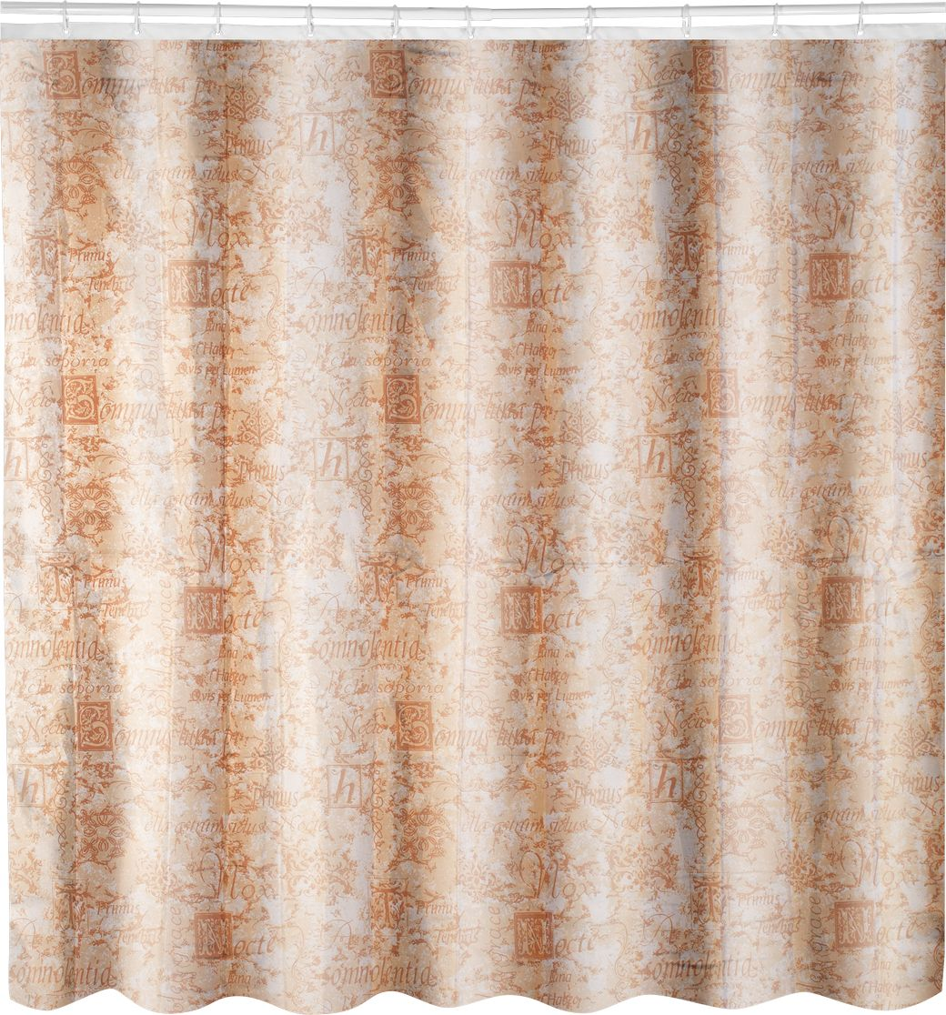 Штора для ванной Swensa Антик, цвет: бежевый, 180 х 180 см штора для ванной swensa антик цвет бежевый 180 х 180 см