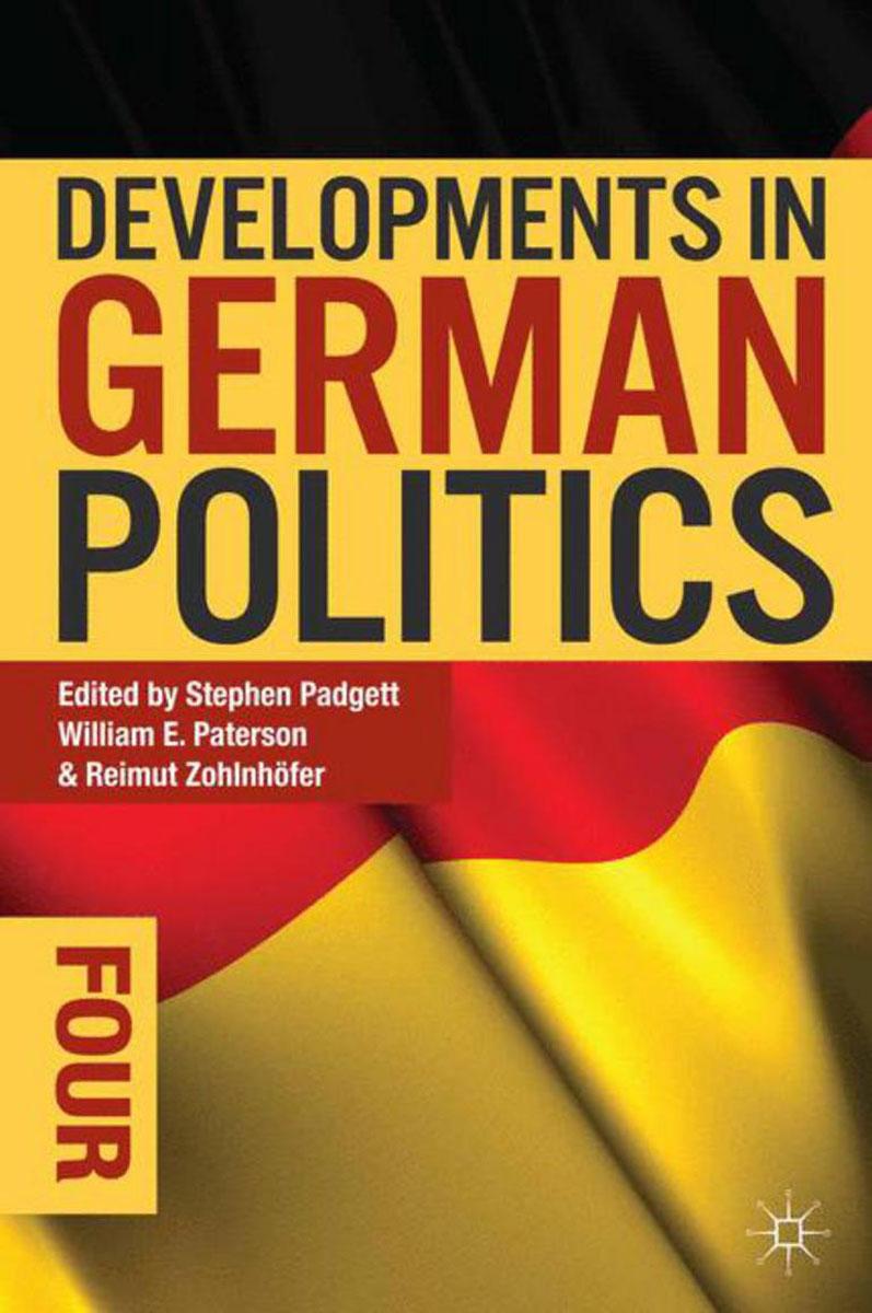 Developments in German Politics 4 ethics and world politics