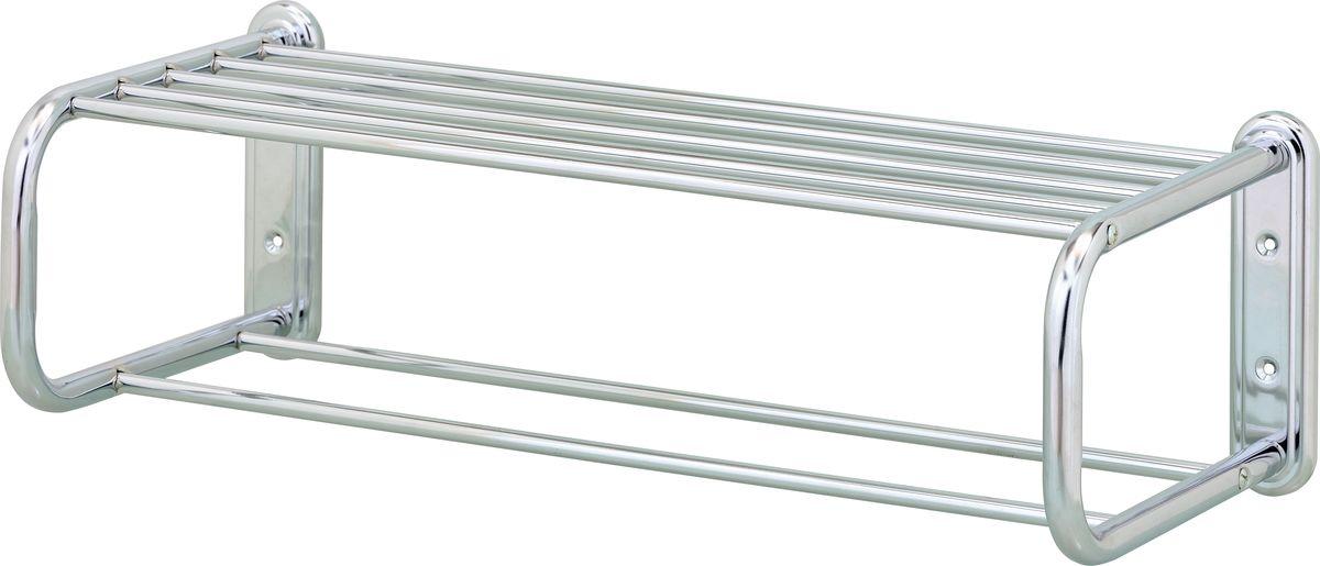 Полка-полотенцедержатель Swensa, цвет: хром, 53 смSWFL-25Полка-полотенцедержатель Swensa подходит для хранения банных принадлежностей.
