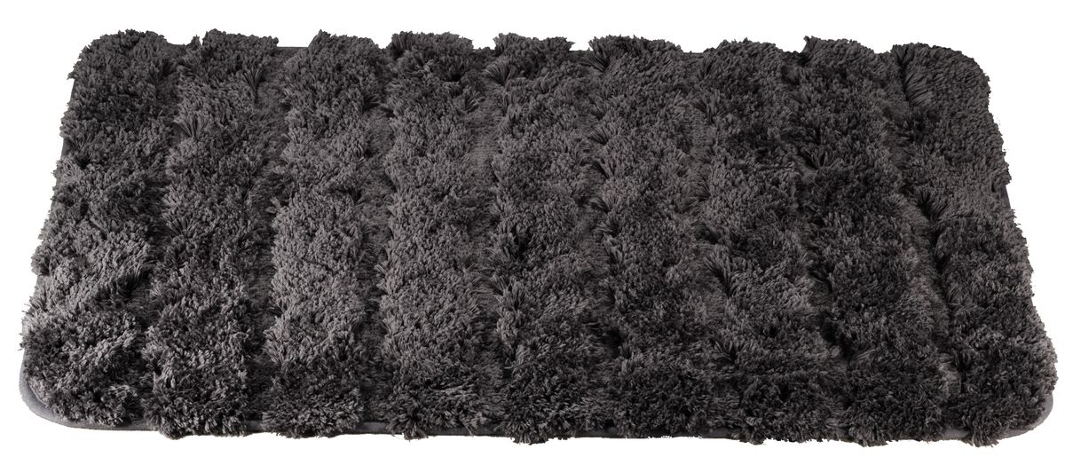 Коврик для ванной Swensa Molle, цвет: серый, 60 х 90 смSWM-2017-GREYКоврик для ванной Swensa Molle предназначен для ванной комнаты. Мягкий и нежный ворс из микрофибры дарит приятные ощущения при прикосновении к коже. Материал нетребователен в уходе – его можно стирать с обычными моющими средствами. Ворс быстро высыхает при комнатной температуре, поэтому плесневые грибки и вредные микроорганизмы не развиваются на поверхности коврика. Микрофибра обладает антистатическими свойствами, не вызывает аллергии и не выделяет токсичные вещества.