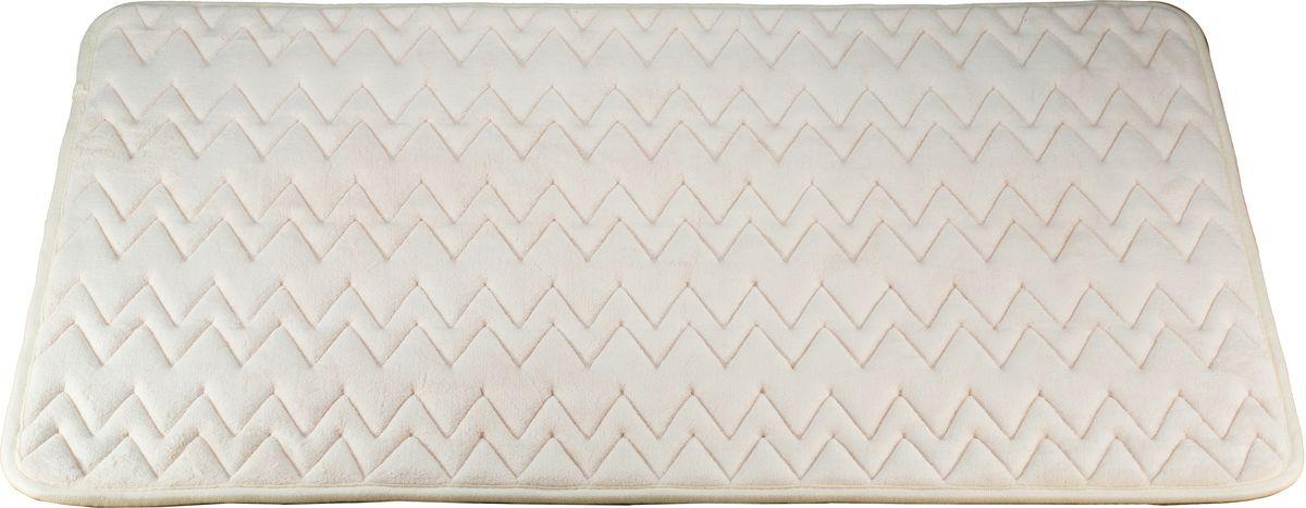 Коврик для ванной Swensa Punto. Memory Foam, цвет: айвори, 60 х 90 смSWM-6020-IVORYКоврик для ванной Swensa Punto. Memory Foam подарит мягкость и комфорт после принятия душа или ванны. Рельефная поверхность изделия обеспечивает приятные тактильные ощущения и отлично впитывает влагу. Полиуретановая основа препятствует скольжению коврика по влажному напольному покрытию. Изделие не деформируется при намокании и последующем высыхании, долго сохраняет опрятный внешний вид, при необходимости легко поддается чистке.