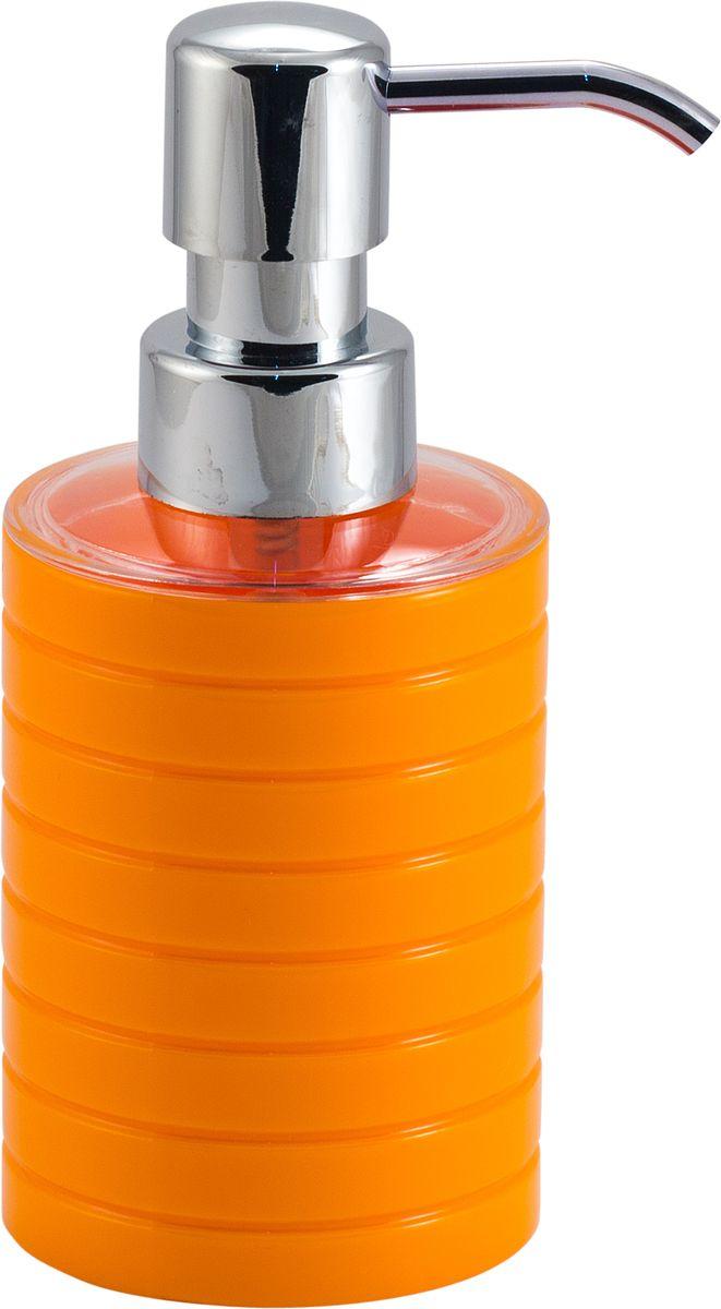 Дозатор для жидкого мыла Swensa Тренто, цвет: оранжевый, 250 млSWP-0680OR-AДозатор для жидкого мыла Swensa Тренто станет незаменимым помощником для проведения ежедневных гигиенических процедур. Представленная модель изготовлена из пластика, прочного материала, который обезопасит изделие от любых нежелательных воздействий и повреждений. Стильный универсальный дизайн изделия позволит ему стать заметным и интересным акцентом в любом интерьере.