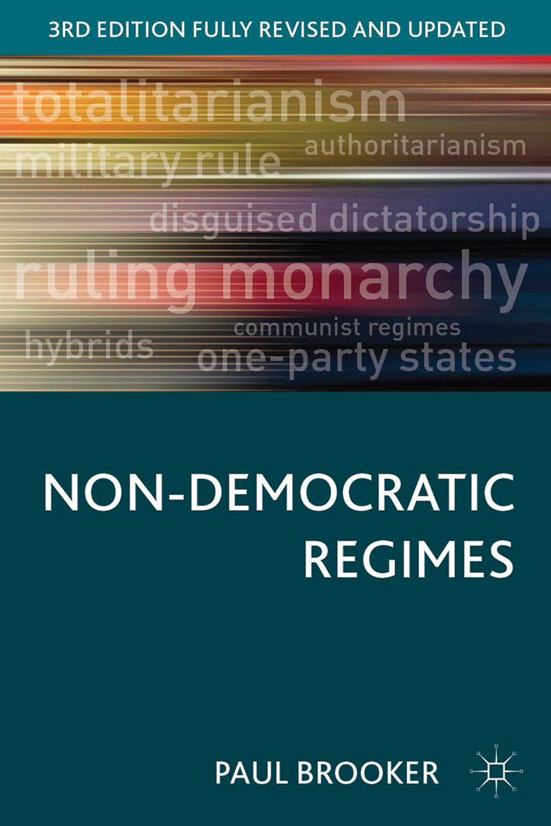 Non-Democratic Regimes democracy and dictatorship in uganda a politics of dispensation