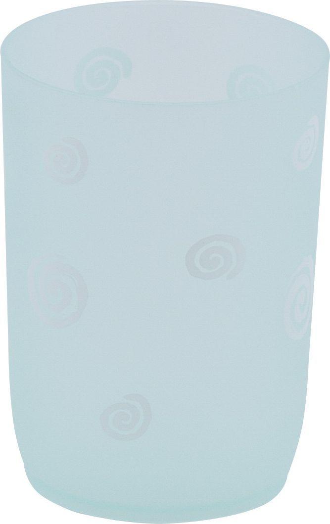 Стакан для ванной Swensa Спираль, цвет: бирюзовыйSWTP-0007GСтакан Swensa Спираль, изготовленный из пластика, отлично подойдет для вашей ванной комнаты. Предназначен для хранения зубных щеток и прочих мелочей.