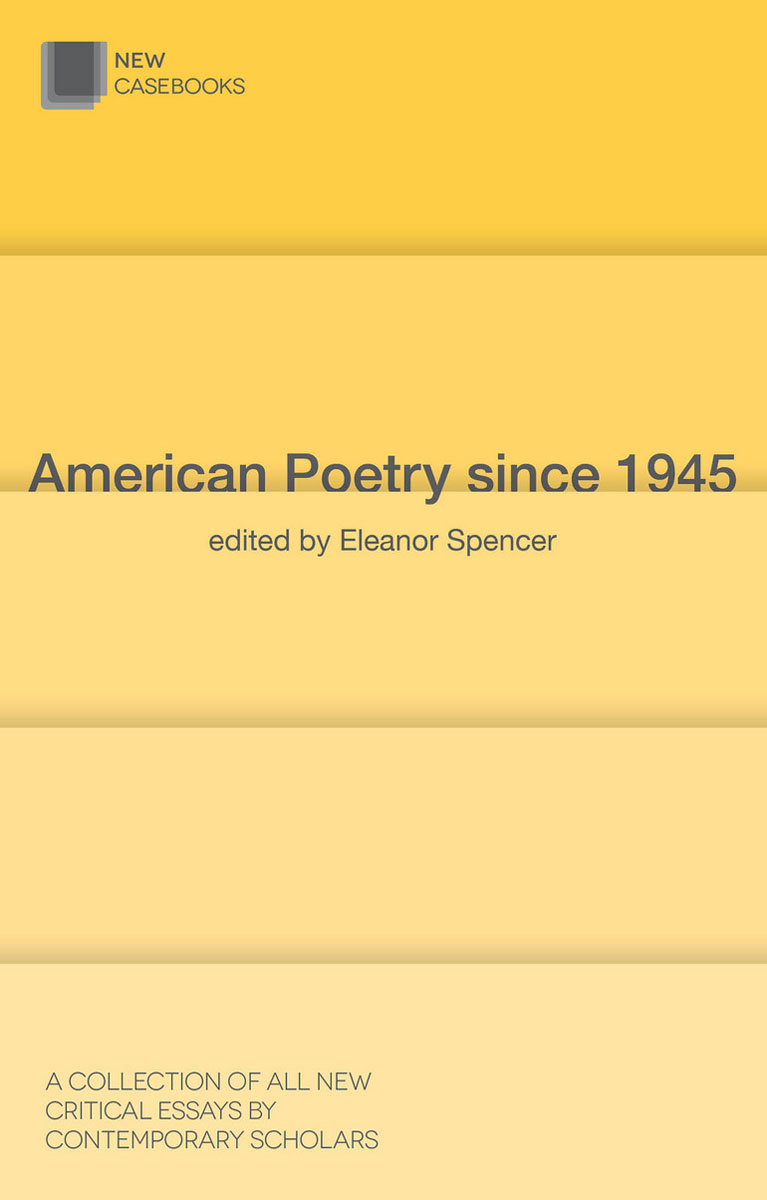 American Poetry since 1945 the history of the social sciences since 1945