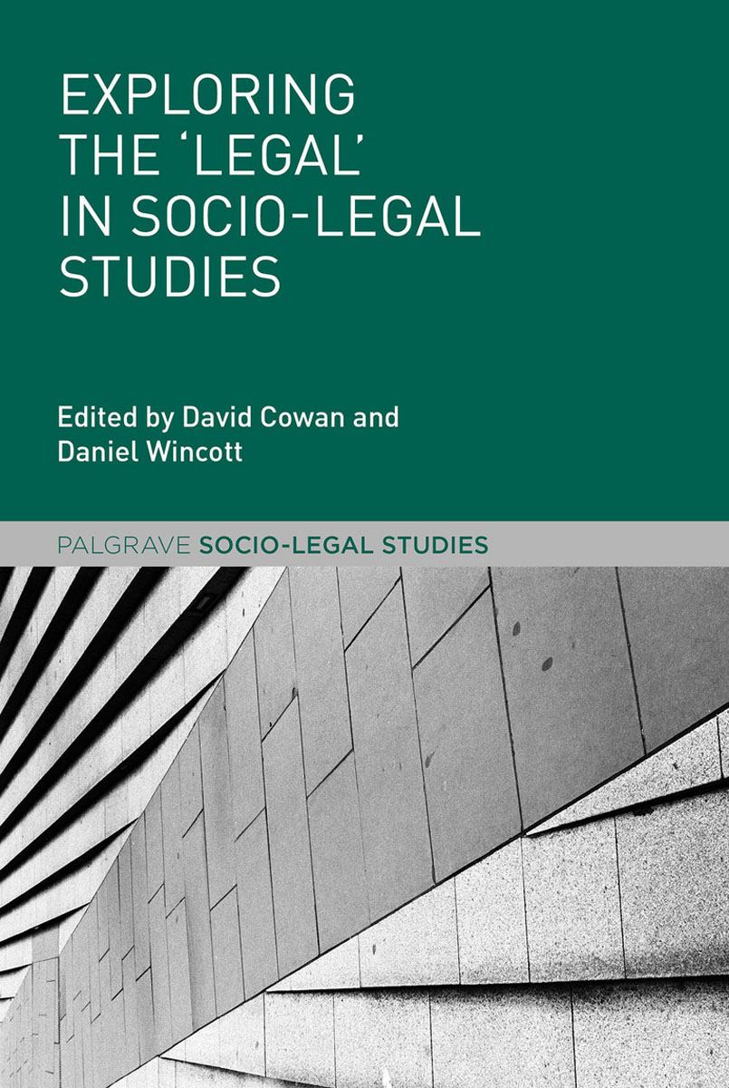 Exploring the 'Legal' in Socio-Legal Studies an ethical and legal analysis of south african medical schemes