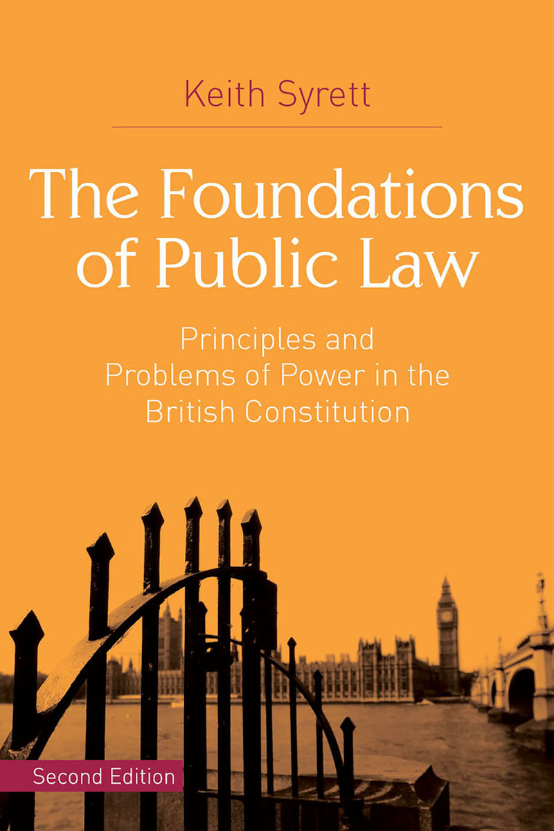 The Foundations of Public Law
