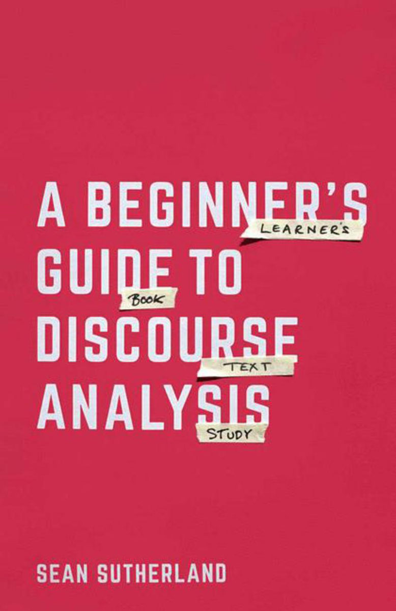 A Beginner's Guide to Discourse Analysis a v kneese handbook of natural resource and energy economics 1